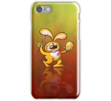 Easter Bunny Painting an Egg iPhone Case/Skin