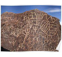 Petroglyphs Poster