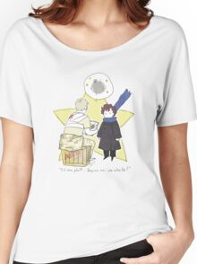 Le Petit Consulting Detective - French Women's Relaxed Fit T-Shirt