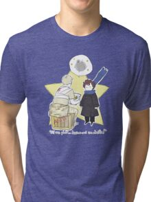 Le Petit Consulting Detective - French Tri-blend T-Shirt