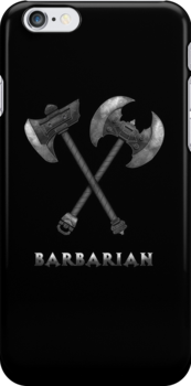 Barbarian Axes  by tombst0ne