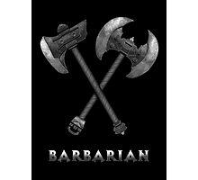 Barbarian Axes  Photographic Print