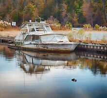 Old Sinking Boat by Joshua McDonough Photography
