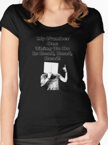 Reading is Number 1 Women's Fitted Scoop T-Shirt
