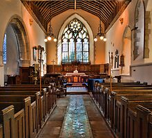 St Mary The Virgin, Thurnham - interior by Dave Godden