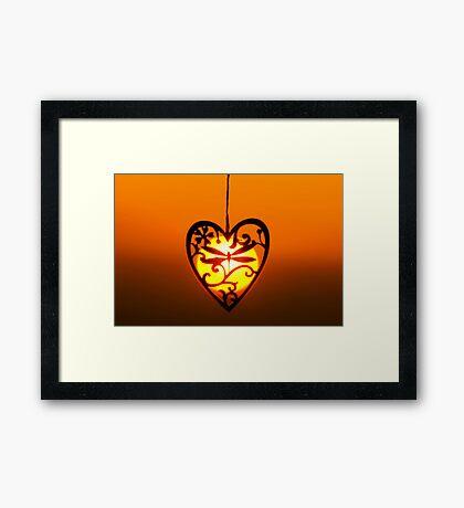 Love the Sun Framed Print