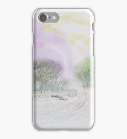 Isolated bush track. iPhone Case/Skin