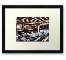 Those Were the Good Old Days Framed Print