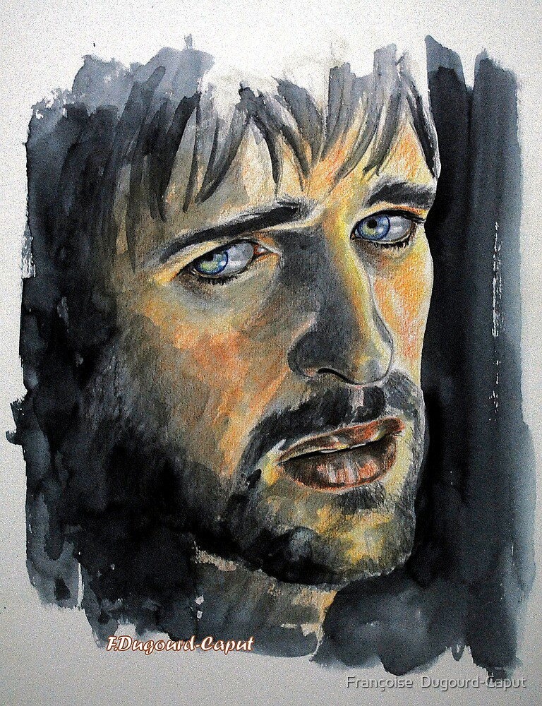 Jonas Armstrong, featured in Art Universe by Françoise  Dugourd-Caput