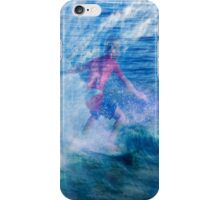Ride those waves iPhone Case/Skin