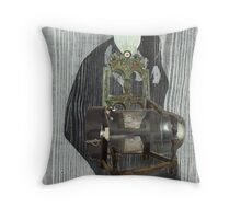 Past Reflections. Throw Pillow