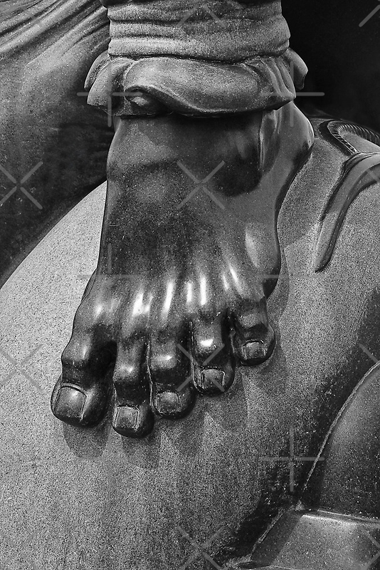 Sculptured Foot by heatherfriedman