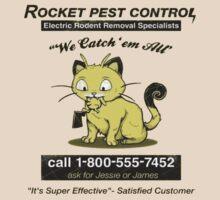 Pest control team rocket by choccywitch