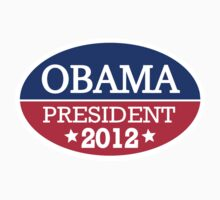 Obama President 2012 One Piece - Short Sleeve