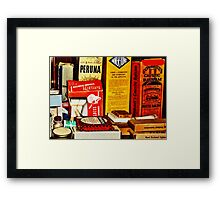 A Remedy for Everything...  Framed Print