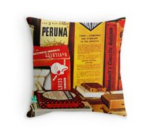 A Remedy for Everything...  Throw Pillow