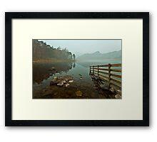 Blea Tarn Looking To Langdale Framed Print