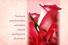 True Beauty (Card) by Tracy Friesen