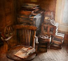 Furniture - Chair - The engineers office by Mike  Savad