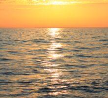 Lake Michigan Sunset Sticker