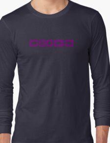 Music Player buttons Long Sleeve T-Shirt