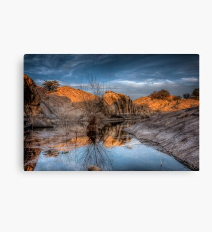 Roughly Peaceful Canvas Print