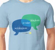 Share Salam (English) Unisex T-Shirt