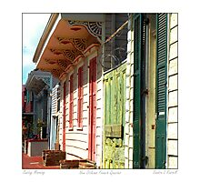 Sunday Morning In the French Quarter Photographic Print