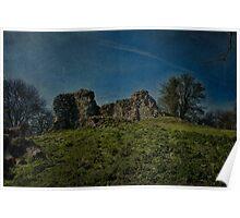 Thurnham Castle Gatehouse Ruins Poster