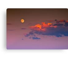 A Lunar Dusk Canvas Print