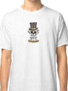 Cute Steampunk Dalmatian Puppy Dog Classic T-Shirt