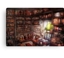 Pharmacy - Equipment - Merlin's Study Canvas Print