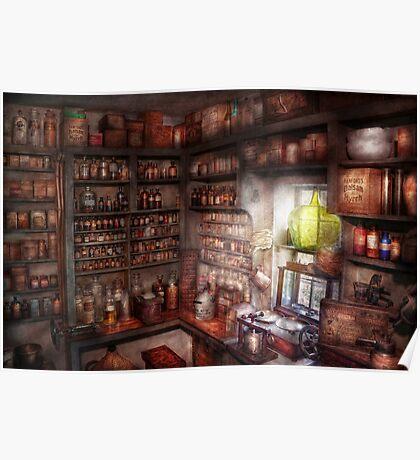 Pharmacy - Equipment - Merlin's Study Poster