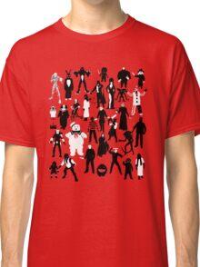 Horror Characters  Classic T-Shirt