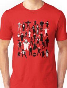 Horror Characters  Unisex T-Shirt
