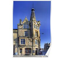 Leith Clock Building Poster
