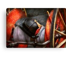 Fireman - Hat - South Plainfield Fire Dept Canvas Print