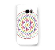 Flower of Life, Psychedelic Rainbow Samsung Galaxy Case/Skin