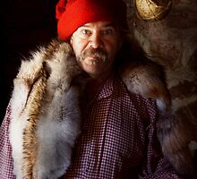 Taxidermist - Jaque the fur trader by Mike  Savad
