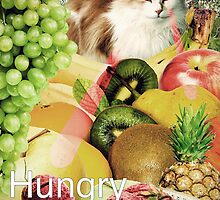 Hungry Kitty by AlabamaGal
