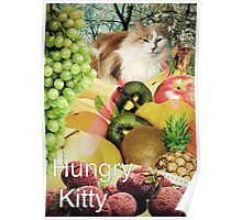 Hungry Kitty Poster