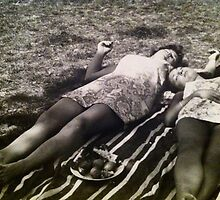 Post Picnic (60's Summertime) England by misofunkay