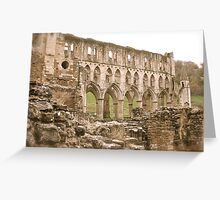 Amidst the Ruins Greeting Card