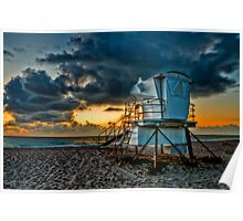 Sunrise in Vero Beach in HDR Poster