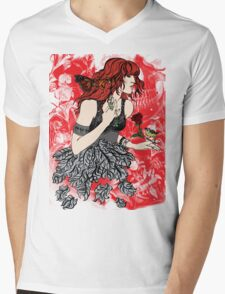 'Once upon a time there was Florence' (2) Mens V-Neck T-Shirt