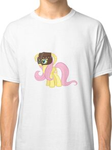 Fluttershy Dovahkiin (No Text) Classic T-Shirt