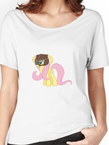 Fluttershy Dovahkiin (No Text) Women's Relaxed Fit T-Shirt