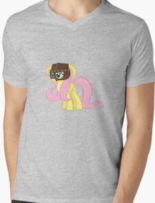 Fluttershy Dovahkiin (No Text) Mens V-Neck T-Shirt