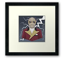 The Power to Rule! Framed Print