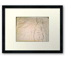 peasant woman  Framed Print